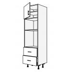 Vysoká skříň pro vestavnou troubu a mikrovlnku 60 cm