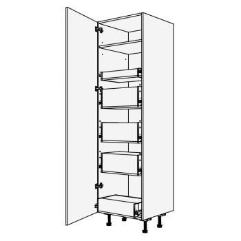 Vysoká skříň potravinová se zásuvkami blum 60 cm