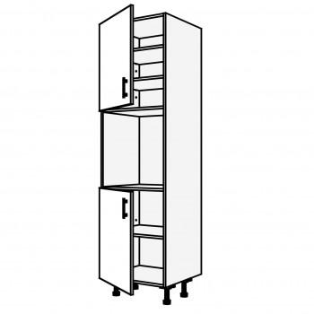 Vysoká skříň pro mikrovlnou troubu 60 cm
