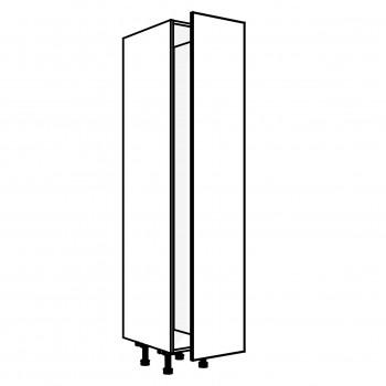Vysoká skříň potravinová s výsuvem 40 cm