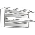 Skříňka horní s výklopem HK Aventos Blum 60 cm