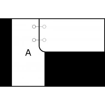 Pravoúhlá deska - varianta A - díl A