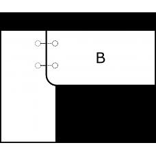 Pravoúhlá deska - varianta A - díl B