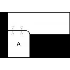 Pravoúhlá deska - varianta B - díl A