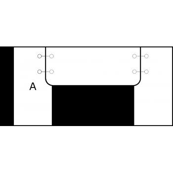 U deska - varianta A - díl A