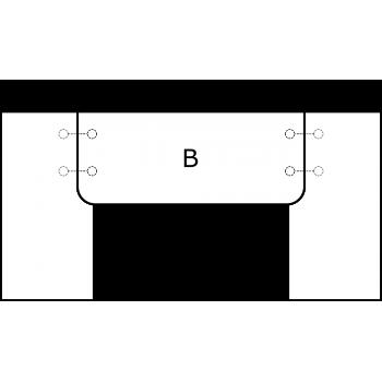 U deska - varianta A - díl B