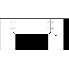 U deska - varianta A - díl C