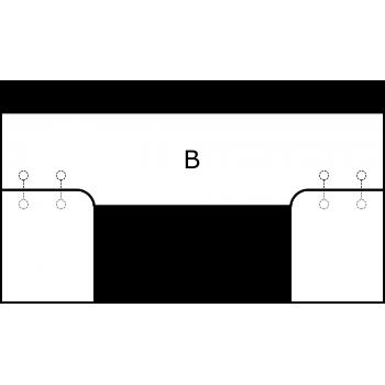 U deska - varianta B - díl B