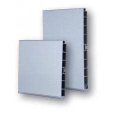 Soklový profil 100 mm hliník broušený