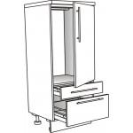 Skříňka spodní pro lednici 60 cm