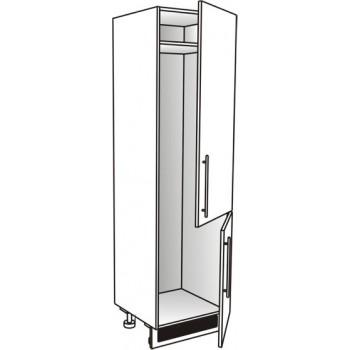 Vysoká skříň pro lednici 60 cm