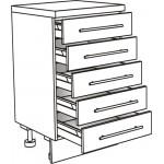 Skříňka spodní s 5 zásuvkami 30 cm