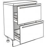 Skříňka spodní s 2 zásuvkami 90 cm