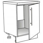 Skříňka spodní pro dřez ostrůvková 45 cm