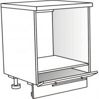 Skříňka spodní pro troubu 60 cm