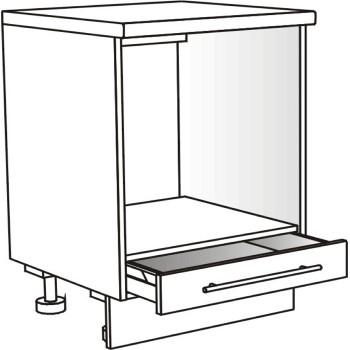 Skříňka spodní pro troubu se zásuvkou 60 cm
