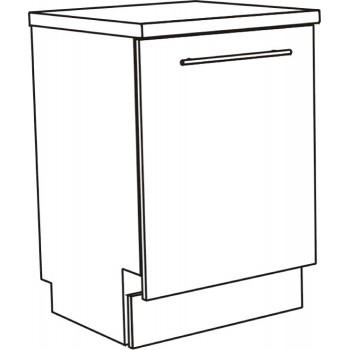 Dveře pro myčku plně integrovanou 45 cm